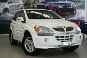 2006 Ssangyong Kyron D100 M200 XDi White 5 Speed Sports Automatic Wagon Rockingham Rockingham Area Preview