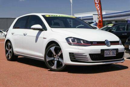 2016 Volkswagen Golf VII MY17 GTI DSG White 6 Speed Sports Automatic Dual Clutch Hatchback Osborne Park Stirling Area Preview