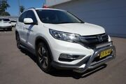2015 Honda CR-V RM Series II MY16 Limited Edition White 5 Speed Automatic Wagon Cardiff Lake Macquarie Area Preview