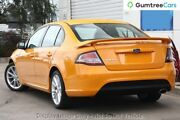 2013 Ford Falcon FG MkII XR6 Orange 6 Speed Manual Sedan Liverpool Liverpool Area Preview