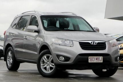 2010 Hyundai Santa Fe CM MY10 Elite Silver 6 Speed Sports Automatic Wagon