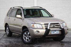 2004 Toyota Kluger MCU28R CVX AWD Gold 5 Speed Automatic Wagon Seaford Frankston Area Preview