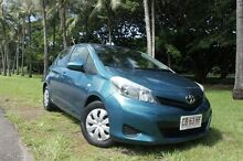 2013 Toyota Yaris NCP130R YR Celestial Blue 4 Speed Automatic Hatchback The Gardens Darwin City Preview