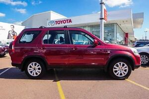 2005 Honda CR-V RD MY2005 4WD Red 5 Speed Automatic Wagon Westminster Stirling Area Preview