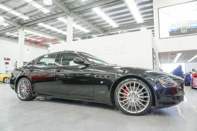 2010 Maserati Quattroporte Sport Gt S Black 6 Speed Automatic Sedan