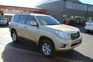 2013 Toyota Landcruiser Prado KDJ150R 11 Upgrade GXL (4x4) Beige 5 Speed Sequential Auto Wagon South Maitland Maitland Area Preview