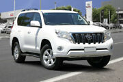 2015 Toyota Landcruiser Prado GDJ150R GXL Glacier White 6 Speed Sports Automatic Wagon Adelaide CBD Adelaide City Preview
