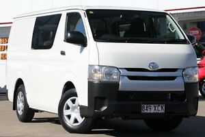2014 Toyota Hiace TRH201R MY14 LWB White 4 Speed Automatic Van Woolloongabba Brisbane South West Preview