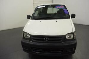 2000 Toyota Townace KR42R SBV White 5 Speed Manual Blind Van