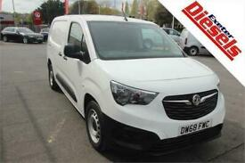 2019 Vauxhall Combo 1.6 Turbo D L2 100 2300 Edition Panel Van Diesel Manual