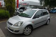 2006 Ford Fiesta WQ LX Silver 4 Speed Automatic Hatchback Seaford Frankston Area Preview