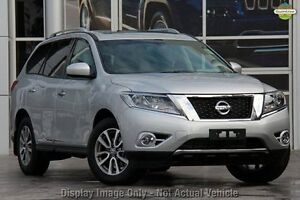 2016 Nissan Pathfinder R52 MY16 ST-L X-tronic 2WD Brilliant Silver 1 Speed Constant Variable Wagon Blacktown Blacktown Area Preview