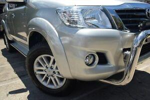 2014 Toyota Hilux KUN26R MY12 SR5 (4x4) Silver 5 Speed Manual Dual Cab Pick-up Mosman Mosman Area Preview
