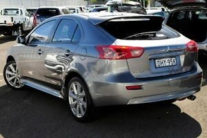 2014 Mitsubishi Lancer CJ MY15 GSR Sportback Grey 5 Speed Manual Hatchback North Gosford Gosford Area Preview