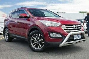 2014 Hyundai Santa Fe DM2 MY15 Elite Red 6 Speed Sports Automatic Wagon Dandenong Greater Dandenong Preview