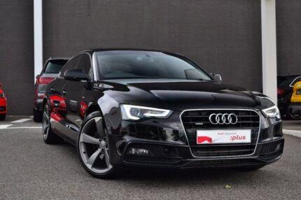 2016 Audi A5 8T MY16 S line plus Sportback S tronic quattro Black 7 Speed