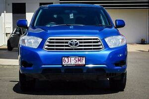 2009 Toyota Kluger GSU45R KX-R AWD Blue 5 Speed Sports Automatic Wagon Garbutt Townsville City Preview