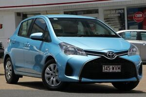 2014 Toyota Yaris NCP130R Ascent Aura 4 Speed Automatic Hatchback Woolloongabba Brisbane South West Preview