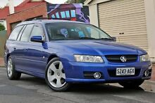 2006 Holden Commodore VZ MY06 SVZ Blue 4 Speed Automatic Wagon Glenelg Holdfast Bay Preview