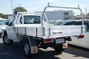 2009 Mitsubishi Triton MN MY10 GL White 5 Speed Manual Cab Chassis Nundah Brisbane North East Preview