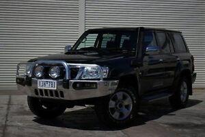 2011 Nissan Patrol GU 7 MY10 ST Black 4 Speed Automatic Wagon Seaford Frankston Area Preview