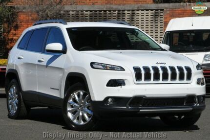 2014 Jeep Cherokee KL Limited Bright White 9 Speed Sports Automatic Wagon Mosman Mosman Area Preview