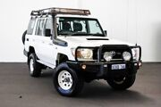 2014 Toyota Landcruiser VDJ76R Workmate French Vanilla 5 Speed Manual Wagon Myaree Melville Area Preview