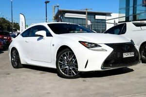 2017 Lexus RC GSC10R RC350 F Sport White 8 Speed Sports Automatic Coupe Liverpool Liverpool Area Preview