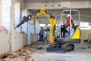We do Industrial, Commercial and Residential Demolition.