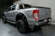 2016 Ford Ranger PX MkII XLT 3.2 (4x4) Silver 6 Speed Manual Dual Cab Utility Woodridge Logan Area Preview