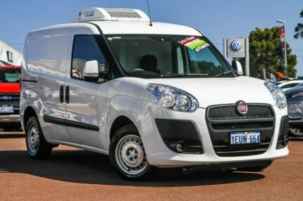 2015 Fiat Doblo 263 Low Roof SWB Comfort-matic White 5 Speed Sports Automatic Single Clutch Van Cannington Canning Area Preview