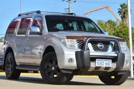 2007 Nissan Pathfinder R51 MY07 ST-L (4x4) Silver 5 Speed Automatic Wagon Victoria Park Victoria Park Area Preview
