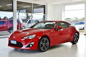 2012 Toyota 86 ZN6 GTS Mount Fuji Red 6 Speed Manual Coupe Morley Bayswater Area Preview