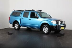 2007 Nissan Navara D40 RX (4x4) Blue 6 Speed Manual Dual Cab Pick-up McGraths Hill Hawkesbury Area Preview