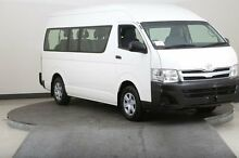 2012 Toyota Hiace KDH223R MY12 Upgrade Commuter White 4 Speed Automatic Bus Smithfield Parramatta Area Preview