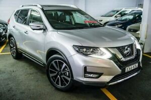 2018 Nissan X-Trail T32 Series II Ti X-tronic 4WD Silver 7 Speed Constant Variable Wagon Chatswood Willoughby Area Preview