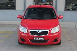 2008 Holden Barina TK MY08 Red 4 Speed Automatic Hatchback Blacktown Blacktown Area Preview