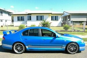 2003 Ford Performance Vehicles GT BA Blue 5 Speed Manual Sedan South Gladstone Gladstone City Preview