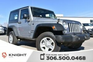 2016 Jeep Wrangler Sport | Accident Free | LOW KMs |