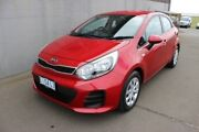 2015 Kia Rio UB MY15 S Red 4 Speed Sports Automatic Hatchback Burnie Area Preview
