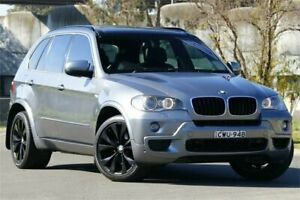 2009 BMW X5 E70 MY09 xDrive30d Steptronic Grey 6 Speed Sports Automatic Wagon Granville Parramatta Area Preview