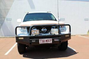 2010 Nissan Navara D40 ST White 6 Speed Manual Utility Toowoomba Toowoomba City Preview