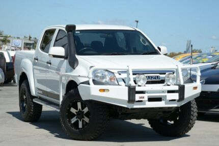 2012 Isuzu D-MAX MY12 SX Crew Cab White 5 Speed Manual Utility Kedron Brisbane North East Preview