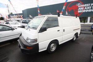 2004 Mitsubishi Express SJ M04 SWB White 5 Speed Manual Van Kingsville Maribyrnong Area Preview