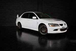 2003 Mitsubishi Lancer Evolution VIII White Manual Sedan Daisy Hill Logan Area Preview