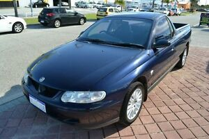 2001 Holden Commodore Ute VU Executive Blue 4 Speed Automatic Utility East Rockingham Rockingham Area Preview