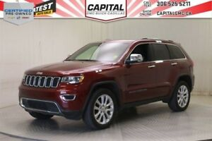 2017 Jeep Grand Cherokee Limited 4WD*4X4*Sunroof*Leather*V6*