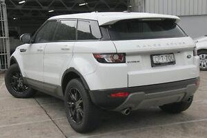 2013 Land Rover Evoque LV MY13 SD4 Pure White 6 Speed Automatic Wagon Mosman Mosman Area Preview