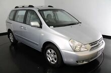 2009 Kia Carnival VQ MY09 EX Luxury Clear Silver 4 Speed Sports Automatic Wagon Welshpool Canning Area Preview