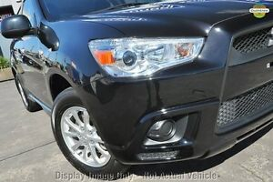 2012 Mitsubishi ASX XA MY12 2WD Black 6 Speed Constant Variable Wagon Wilson Canning Area Preview